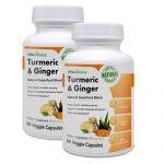 Picture of 2 bottles of Turmeric & Ginger by Vita Balance